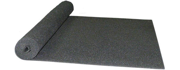 Acoustic flat sound proofing sheet