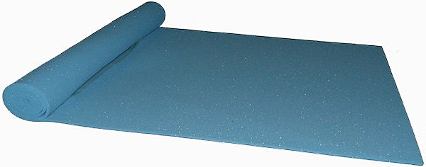 High/firm density foam sheet